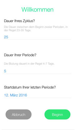 menstruations kalender die app im test gesuendernet. Black Bedroom Furniture Sets. Home Design Ideas
