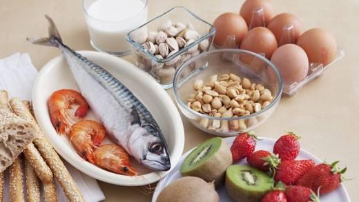 Nahrungsmittelallergie: Lebensmittel und Allergie-Tests meiden!