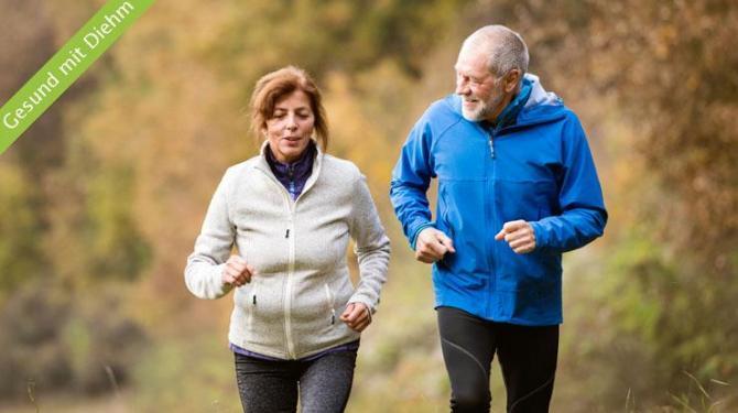 Sport im Alter verlängert das Leben