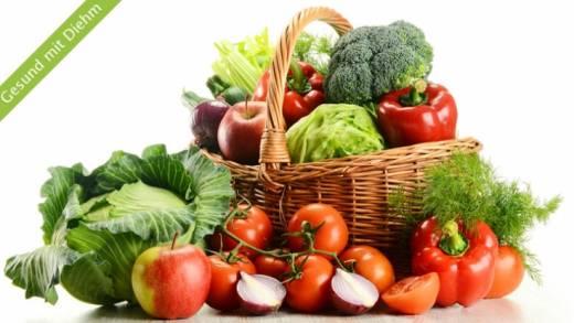 Obst und Gemüse – am besten fünfmal am Tag